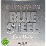 Dean Markley Blue NPS Steel Bass Guitar Strings 40-95 2670A Extra Light [並行輸入品]