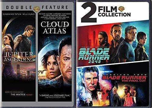 Deckard Sci-Fi Detective Blade Runner Final Cut Harrison Ford + 2049 & Cloud Atlas Tom Hanks + Jupiter Ascending 4 Film Movie Set