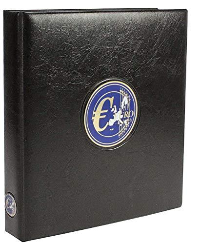 SAFE 7340 - Classeur monnaie euros de tout les pais - Album de pièces de monnaie en euro + 6 feuilles et pages préimprimées en couleur pour 30 ensembles - Classeur pieces de monnaie pour votre collection de pièces de monnaie 1 Cent à 2 Euro