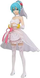 Sega Project Diva Arcade Future Tone Hatsune Miku Super Premium Action Figure White Dress, 9
