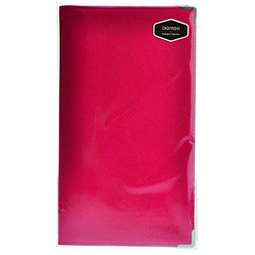 Charmoni – Pacey, custodia porta libro, porta carte di credito, carta d'identità, Fucsia (Rosa) - Pacey_fs