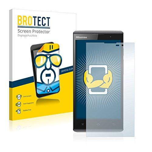 BROTECT Schutzfolie kompatibel mit Hisense Sero 5 L691 (2 Stück) klare Bildschirmschutz-Folie