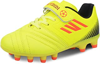 Boys Football Boots Kids Football Shoes Girls Soccer Athletics Training Shoes Teenager Outdoor Sport Shoes Sneakers for Un...