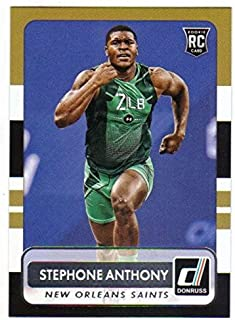 2015 Donruss #191 Stephone Anthony Saints NFL Football Card NM-MT