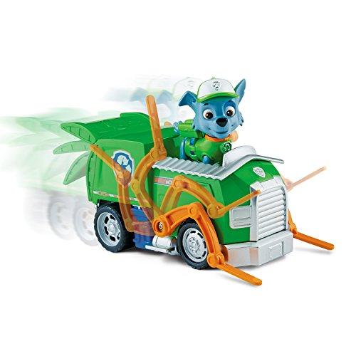 PAW PATROL 6024018 Rocky - Figura Decorativa con vehículo