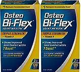 Osteo Bi-Flex Triple Strength w/ Vitamin D, 120 Coated Tablets (Pack of 2)