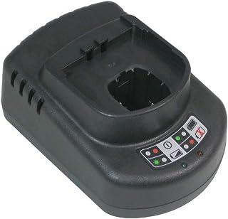 Trade-Shop universell batteriladdare (12 V 14,4 V 18 V Ni-CD Ni-MH Li-Ion) laddningsstation snabbladdare för Ryobi Paslode...
