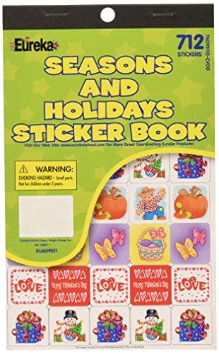 Eureka Seasons and Holidays Stic...