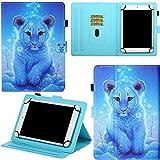 DodoBuy Funda para Huawei MediaPad T5 de 10,1 pulgadas, cierre magnético, función...