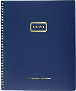 Simplified by Emily Ley 2020 Monthly Planner, 8-1/2