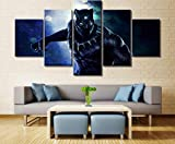 GIRDSS- Impresiones sobre Lienzo 5 Cuadros En Lienzo Modernos Salon Decoracion Dormitorios Murales...