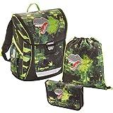baggymax® 138630 Fabby Schulranz.Green Dino