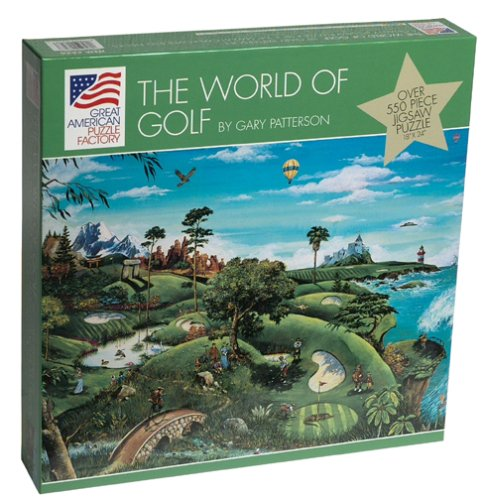 Cartoonist Gary Patterson The World of Golf 550 piece puzzle