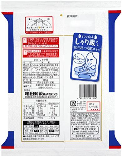 『亀田製菓 しゃり蔵 85g×6袋』の1枚目の画像