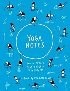 YogaNotes: How to sketch yoga postures & sequences