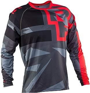 haixclvyE Unisex Bike Cycling Jersey Long Sleeve T-Shirt Motorcycle Motocross T-Shirt Long Sleeve MTB Cycling Clothing