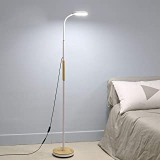 Table Lamp Floor Light Lamp Floor Lamps Modern Minimalist LED Eye Reading Floor Lamp, Lamp Angle Adjustable, Living Room B...