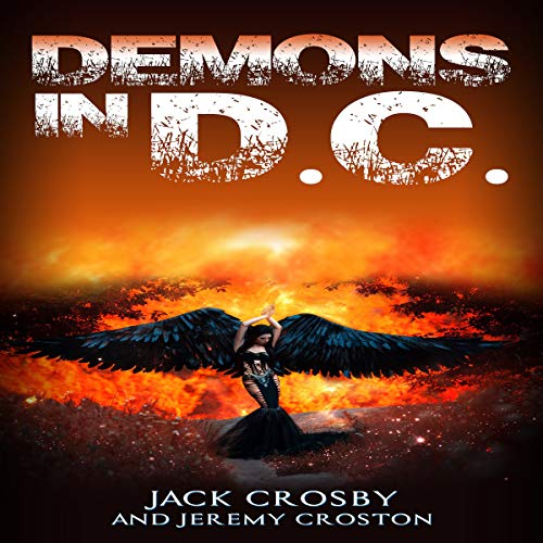Demons in D.C.  audiobook cover art