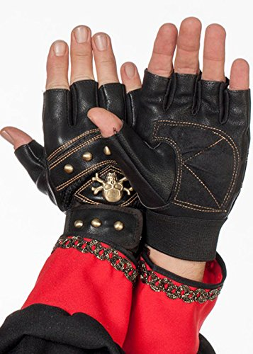 Deluxe adulte Pirate de Fingerless gants