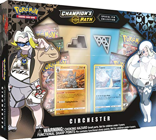 Pokemon Sun & Moon 3.5 Champions Path Coalossal Lapras Pin