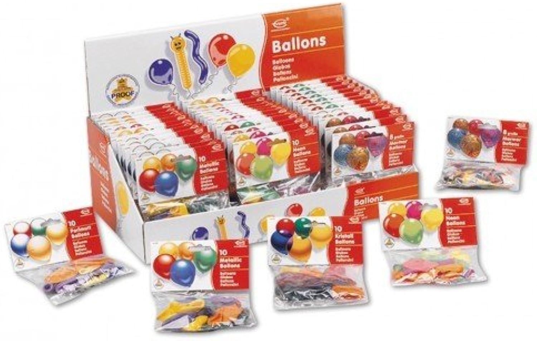 EGrüns Ballon 49140 - Partyballons, 10 Stück