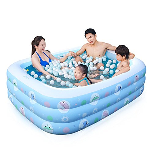 Baignoire gonflable Piscine gonflable de bain pour enfants de bébé, enfants adultes de ménage jouent le bain d'eau, baignoire gonflable pliable avec la pompe électrique