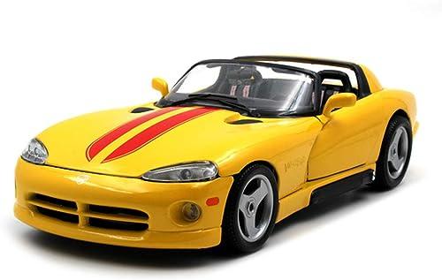 JIANPING Modèle de Voiture 1 18 Dodge V Serpent GTS Simulation Alliage Moulage sous Pression Jouet Bijoux Collection de Voitures de Sport Bijoux 25x11x6.5CM Modèle de Voiture