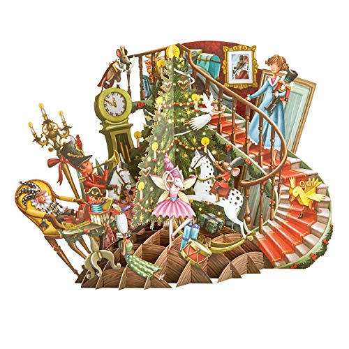 The Nutcracker Top of The World 3D Pop-Up Christmas Card