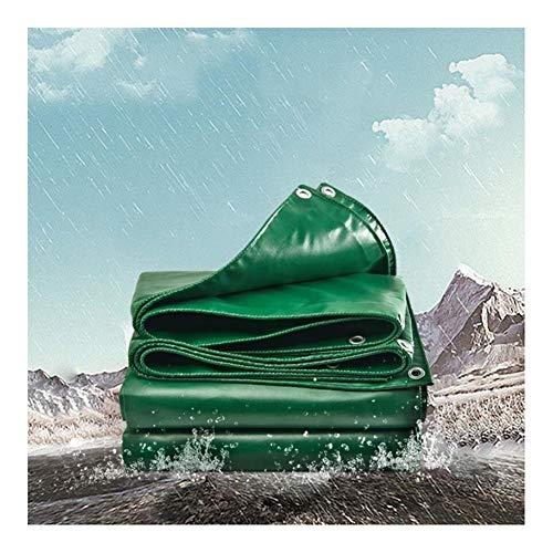 LIUPENGWEI Zeildoek En PVC Waterdichte Lightweight Zeildoek Van Ground Voorblad Camping Tent Tuinmeubilair Covers Waterdichte Heavy Duty Tarp - Kleur: Groen zeildoekzak