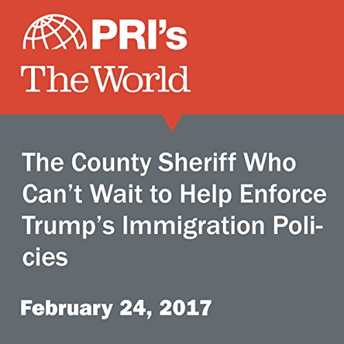The County Sheriff Who Can't Wait to Help Enforce Trump's Immigration Policies audiobook cover art