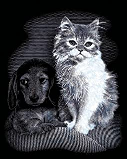 Pet Friends Silver Scraperfoil Kit - 8