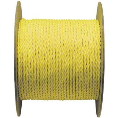 WELLINGTON CORDAGE 15019 3/8-Inch X 600-Feet Yellow Poly Rope