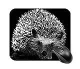 Hedgehog Scratch Board Mouse Pad 7.1 X 8.7 in
