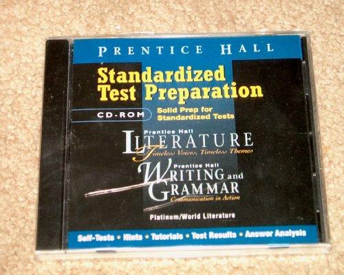 Prentice Hall Literature/Wag Standardized Test Preparation CD-ROM Grade 10 2000 Copyright Fifth Edition