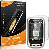 2 x SWIDO Protector de pantalla Garmin Edge Touring Protectores de pantalla de película 'AntiReflex' antideslumbrante