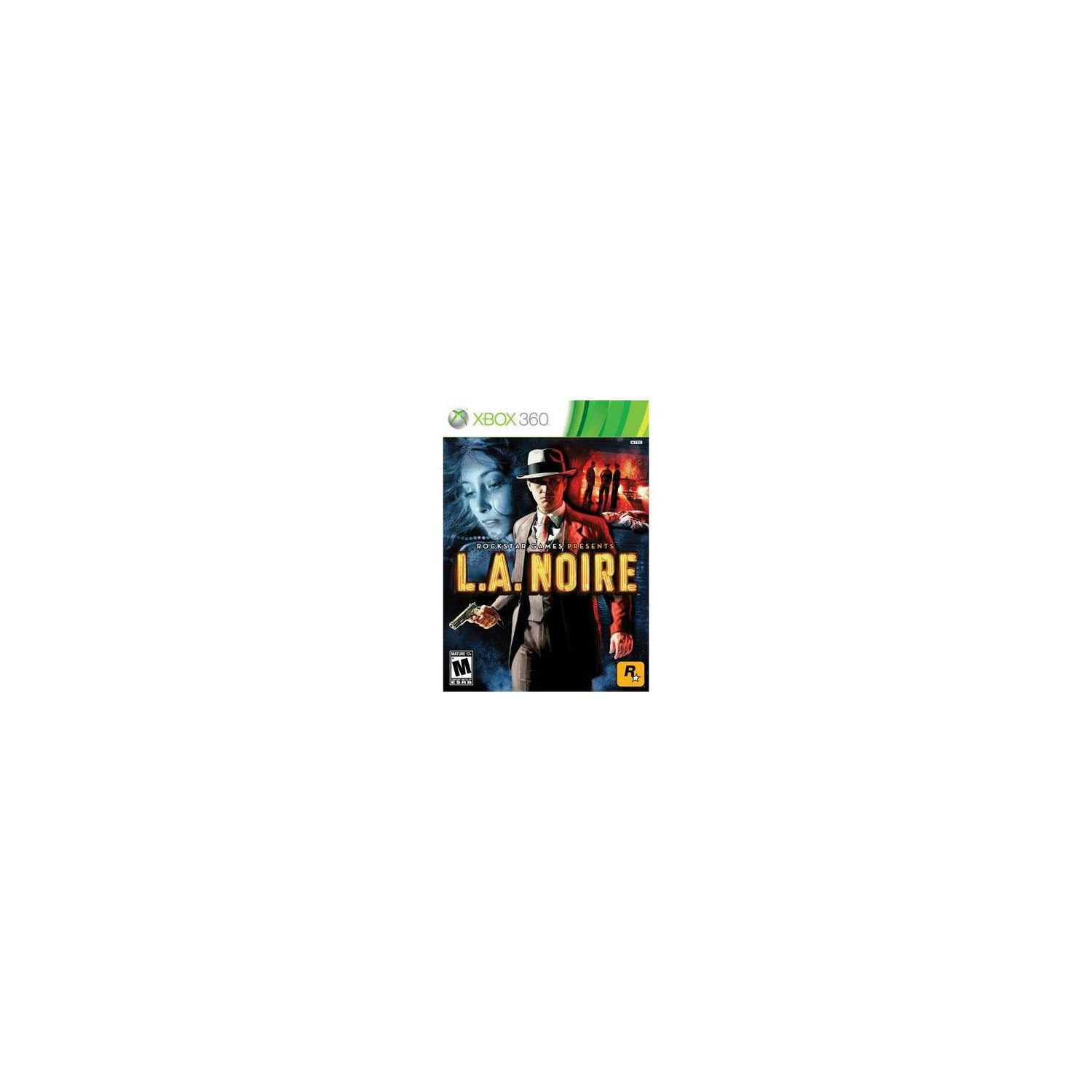 New Take-Two L A Noire Strategy Game Complete Product Standard Retail Supports Xbox 360