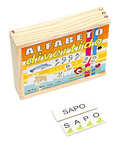 Alfabeto Divertido Carlu Brinquedos