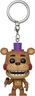 Funko Pop Keychain: Five Nights at Freddy's Pizza Simulator - Rockstar Freddy Collectible Figure, Multicolor