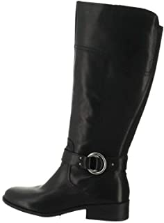 Wide Calf Leather Riding Boots Gatway A343963