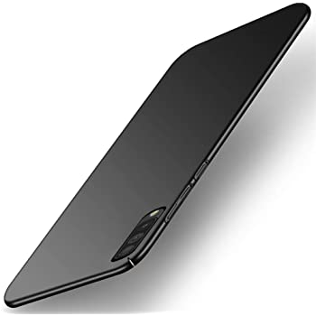 TheGiftKart Ultra Slim 360* Matte Velvet Feel Hard Back Case Cover with Camera Protection Bump for Samsung Galaxy A50s / A50 / A30s (Black)
