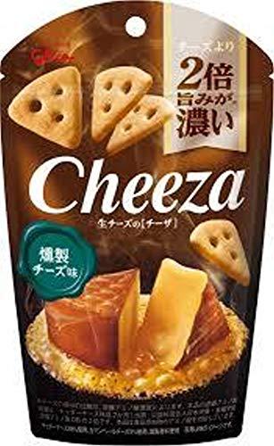 グリコ 生チーズのチーザ〈燻製チーズ味〉 40g 10コ入り