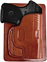 Tagua PK5-022 S&W Bodyguard 380 Back Pocket Holster, Brown, Right Hand