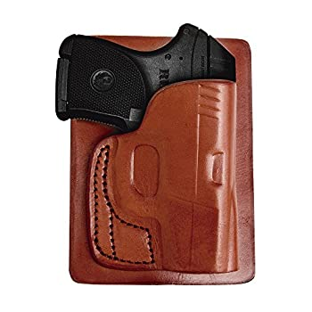 Tagua PK5-022 S&W Bodyguard 380 Back Pocket Holster Brown Right Hand