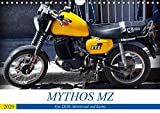 Mythos MZ - Ein DDR-Motorrad auf Kuba (Wandkalender 2020 DIN A4 quer)