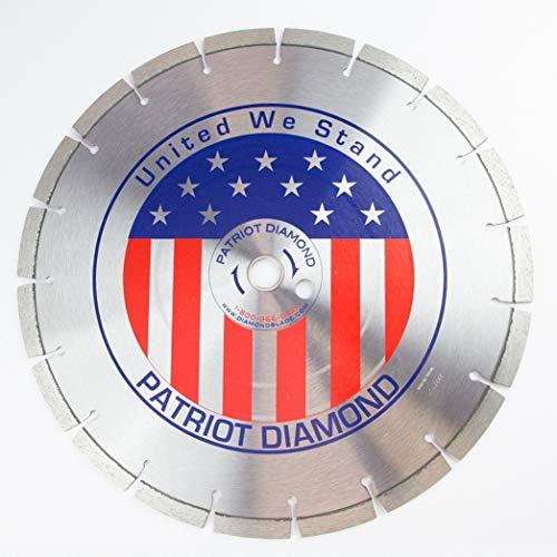 "14"" Patriot Diamond Blade - Supreme Cured Concrete / General Purpose Blade"