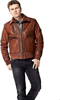 038956f327a6c Amazon.com.tr: Deri - Mont ve Kaban / Dış Giyim: Moda