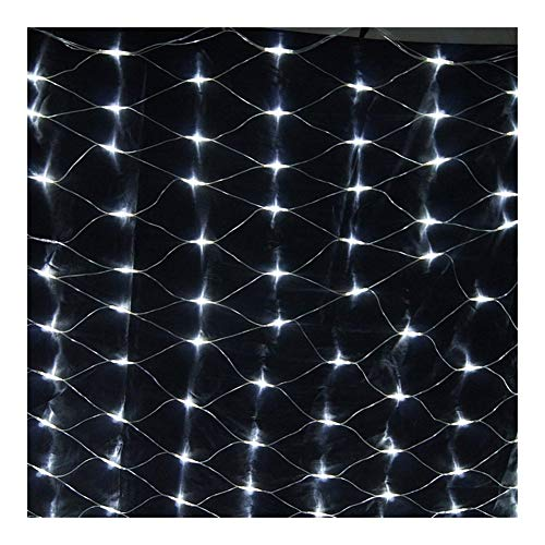 Curtain Lights, Warm White Bedroom Fairy Lights 8 Modes String Lights Plug In for Indoor Outdoor Wedding Decorations Christmas Party Gazebo And More 350 LED (Color : White, Size : 14.76x4.92FT)