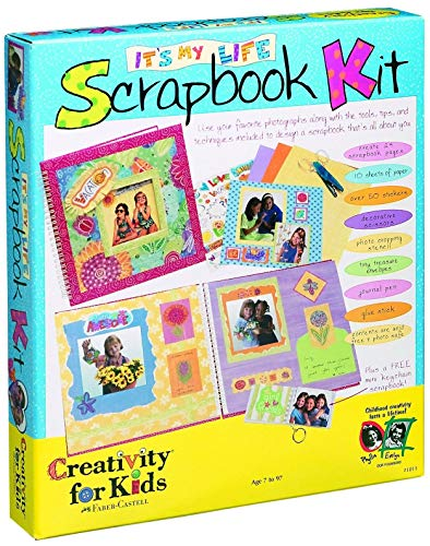Creativity for Kids It's My Life Scrapbook - Cuaderno de Recortes para Decorar