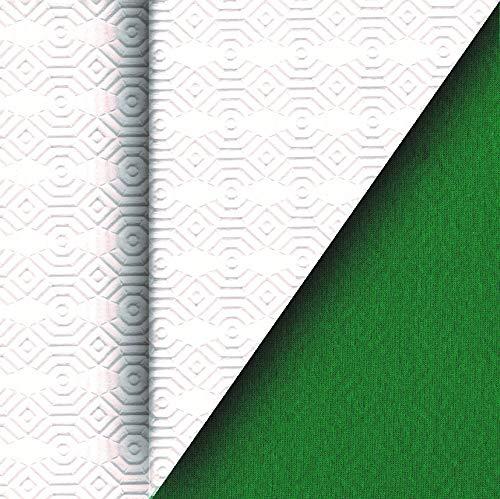 DecoHomeTextil Tischpolster Pokermatte Pokertuch Pokertischauflage Poker Grün Breite & Länge wählbar 80 x 120 cm Tischschutz Tischbelag Tischschoner