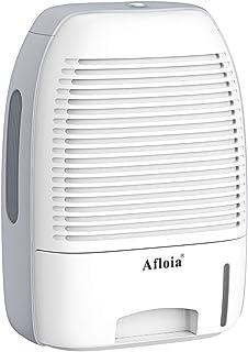 Afloia Dehumidifier for Home,Electric Dehumidifier 52oz Capacity Deshumidificador Quiet 2200 Cubic Feet (250 sq ft) Portable Dehumidifiers for Home Bathroom Bedroom Dorm Room Baby Room RV Crawl Space